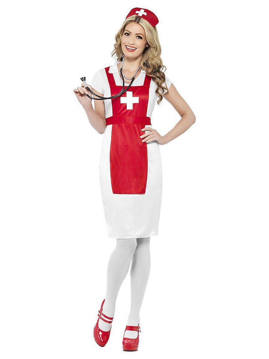 Krankenschwester Kostüm in 2020 | Krankenschwester kostüm ...