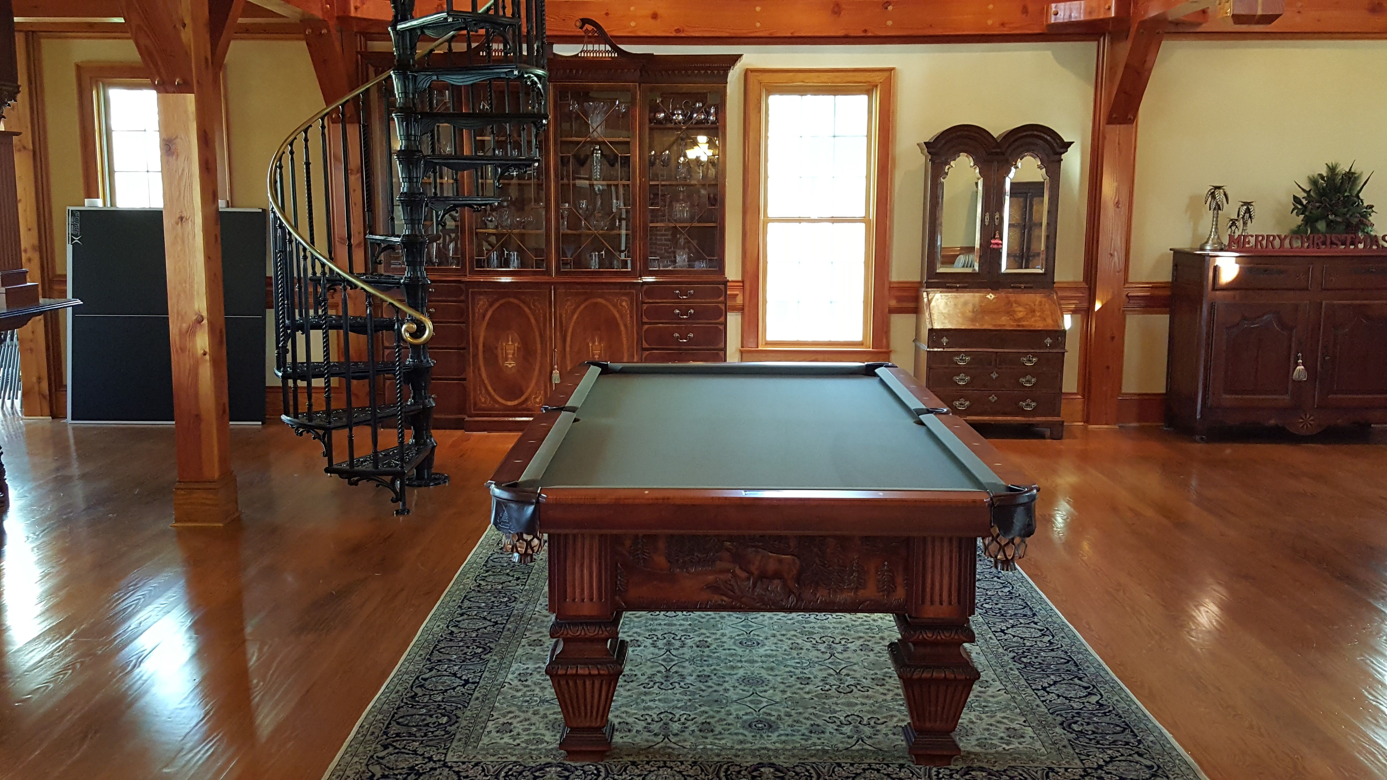 Rustic Style Pool table. A.E. Schmidt Acadia. | Country Collection ...