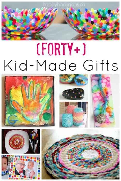 40+ Fabulous Gifts Kids Can Make | Diy gifts, Diy ...