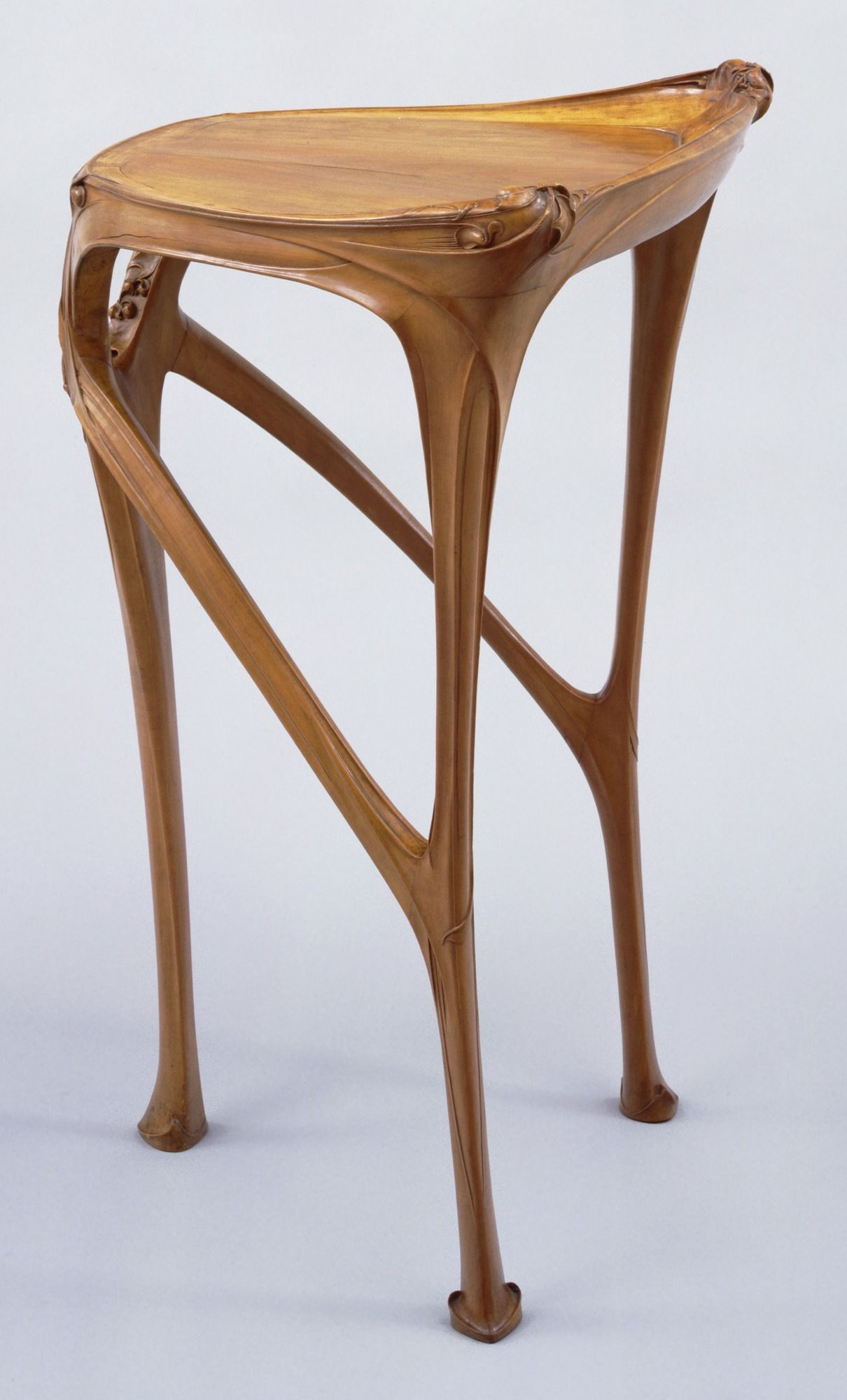 Hector Guimard. Side Table. . 1904-07 Woodworking In