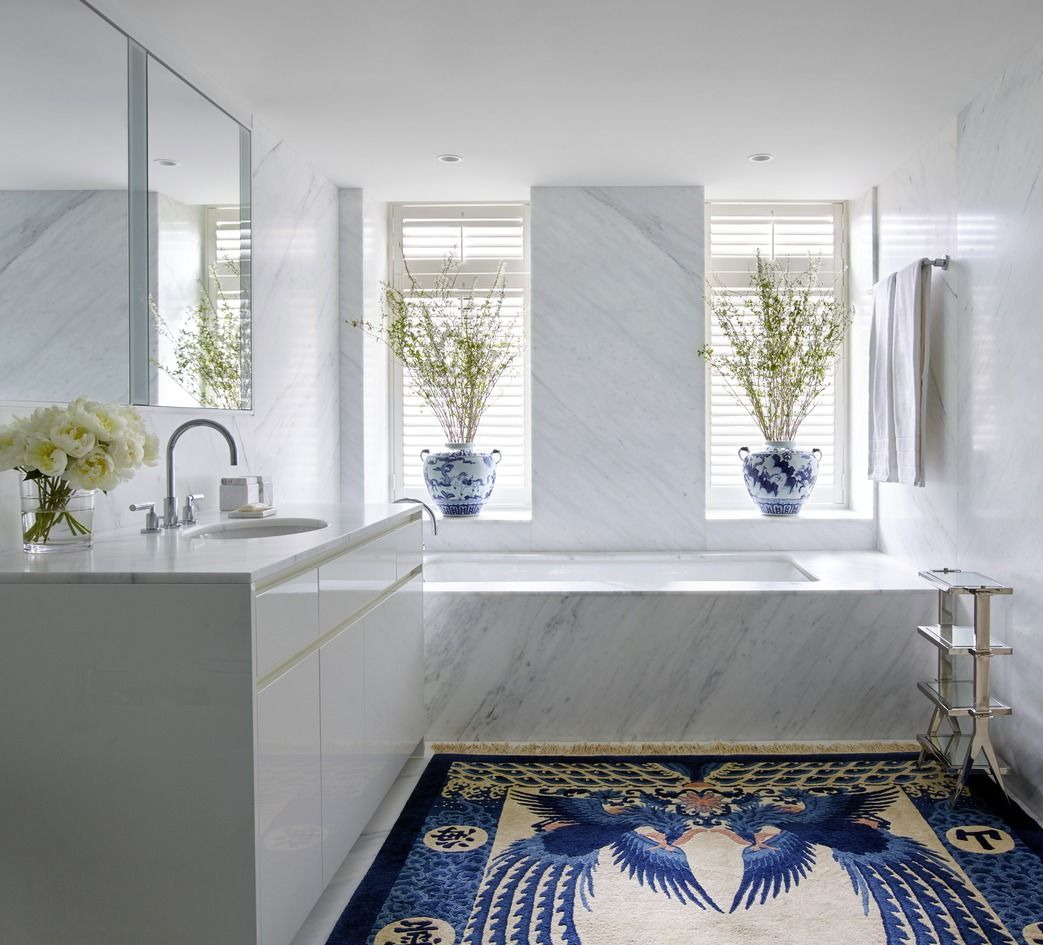 Beautiful Bathrooms Nyc: 80 Of The Most Beautiful Designer Bathrooms We've Ever