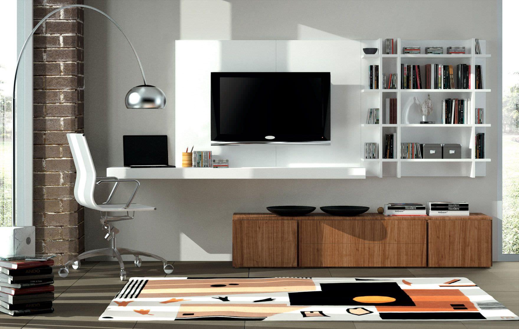 Muebles de tv modernos buscar con google depa pitufo for Diseno de muebles de oficina modernos
