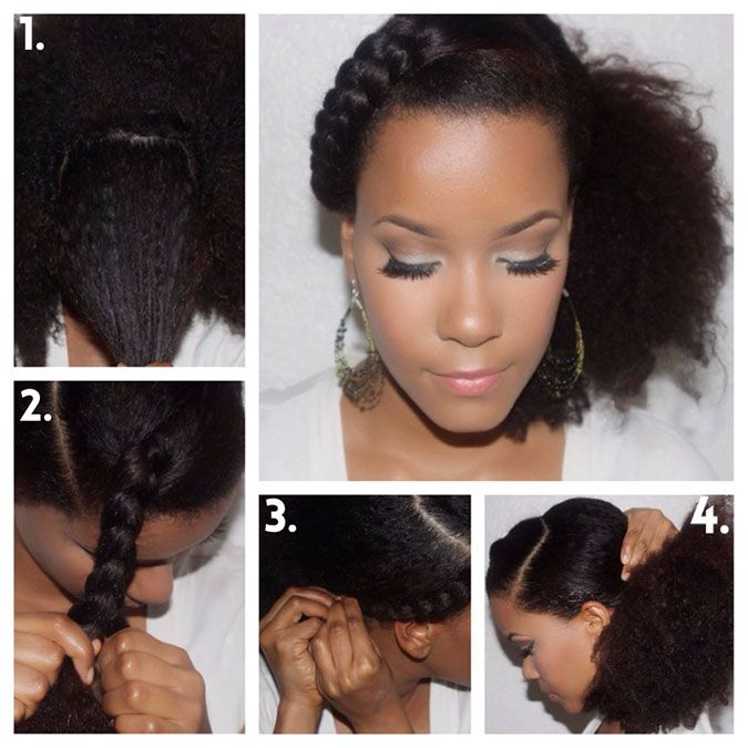 Phenomenal 1000 Images About Natural Hairstyles On Pinterest Protective Hairstyles For Women Draintrainus