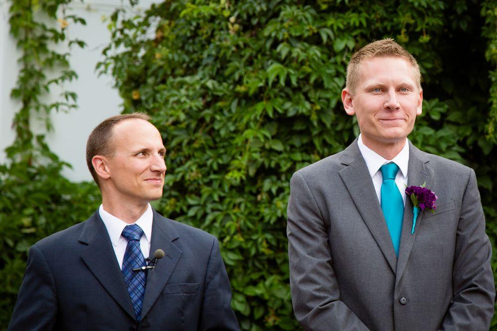 The Dashley Blog — The Dashley Studio Salt Lake City Wedding Photography Aspen Landing Outdoor Wedding Groom First Look