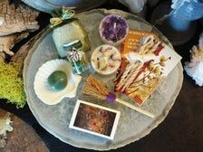 Beltane Candle Magick Box, Abundance Gift Set, Witch Kit for Spring & Summer, Witch Celebration, Witch Alter Kit
