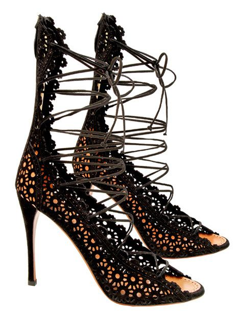 FOOTWEAR - Lace-up shoes Alaia BqrawE94f