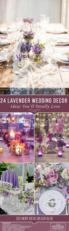Wedding decoration ideas purple   Lavender Wedding Decor Ideas Youull Totally Love  Hall
