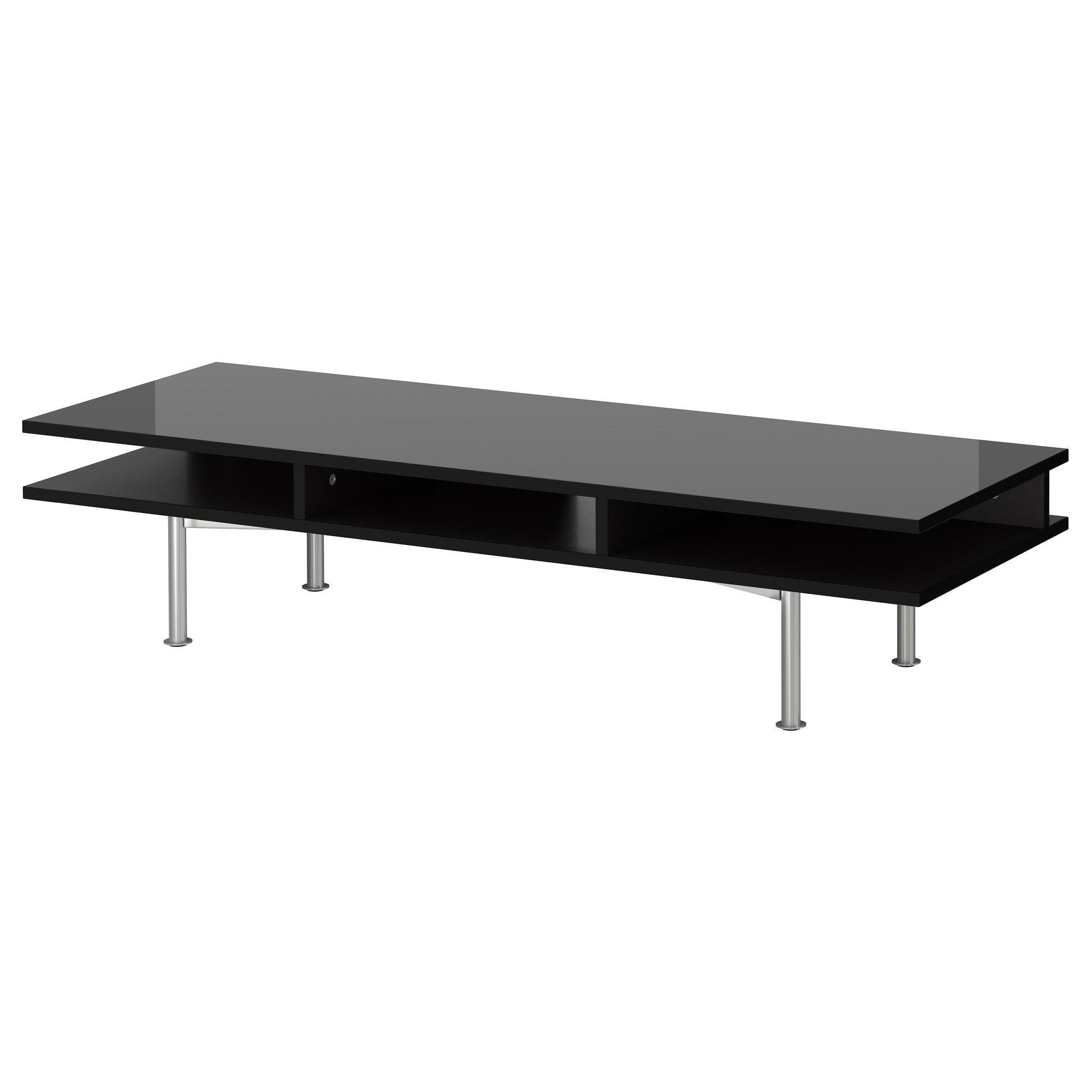 Tofteryd Tv Unit High Gloss Black Ikea 119 00 As Of 07 26 2017