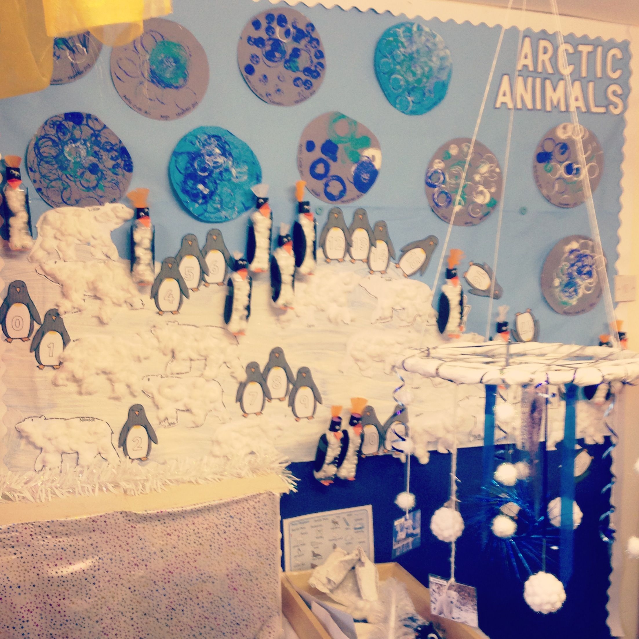 Arctic Animals Winter Display Smallworld And