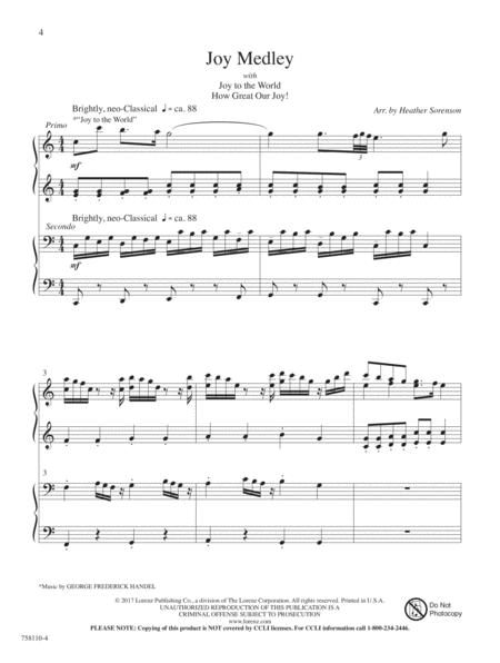Brani natalizi per pianoforte a 4 mani Christmas music vol 2