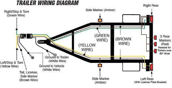 diagram 4way jpg 600 309 tear drop trailer pinterest rh pinterest com dump trailer wiring diagram dump trailer wiring diagram