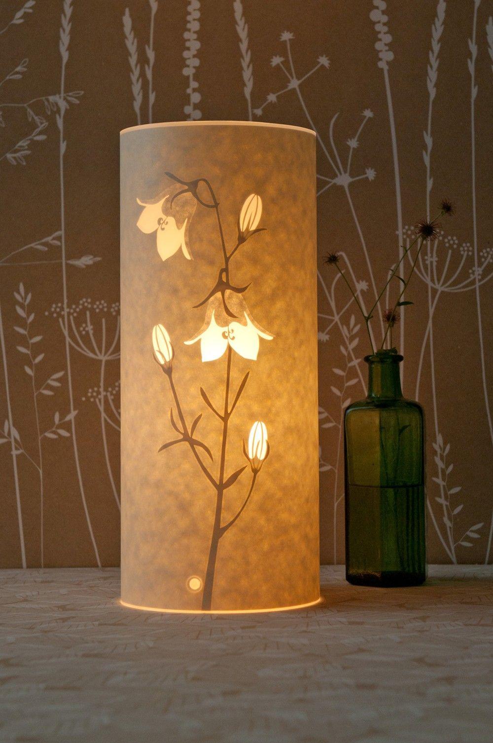 Small Harebell Table Lamp Table lamp, Lamp, Creative lamps