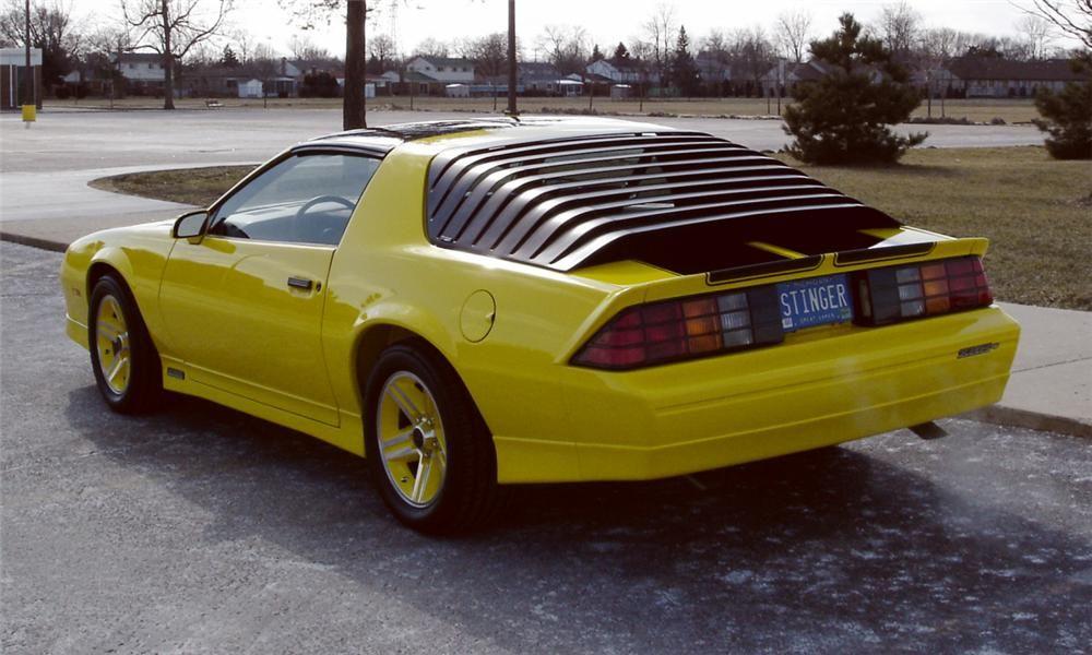 1985 Chevrolet Camaro Iroc Z 28 T Top 39709 Camaro Iroc