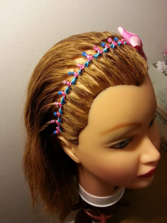 Encintado diadema para ni as ribbon headband for girls encintados y lazos con liston Diademas de nina originales
