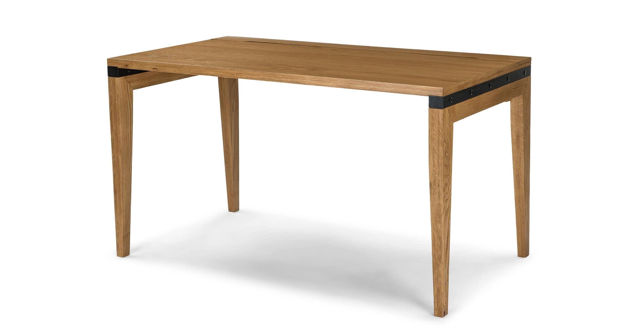 Madera Oak 54 Desk Contemporary Desk Oak Dining Table Mid