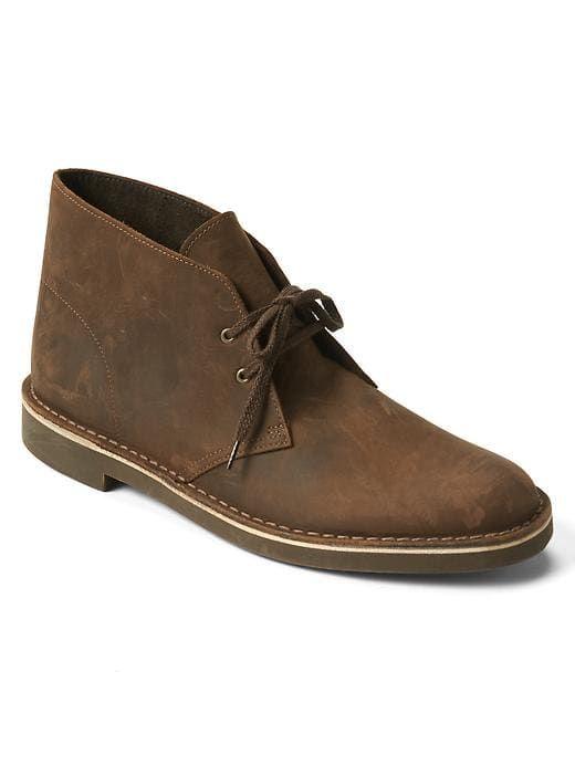 ce8a6d2c79 Gap Mens Gap + Clarks Bushacre Boots Brown