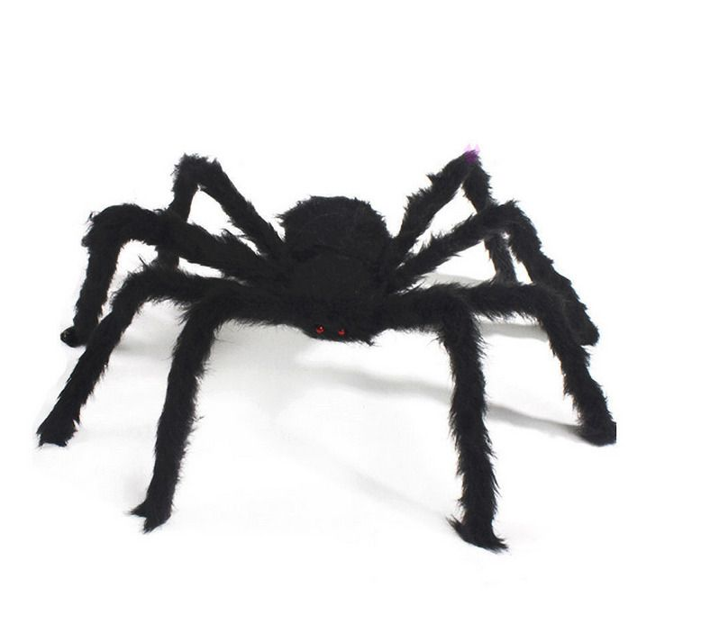 Spider Halloween Decoration Haunted House Prop Indoor Outdoor Black Giant Ad Halloween Spider Decorations Creepy Halloween Decorations Halloween Party Props