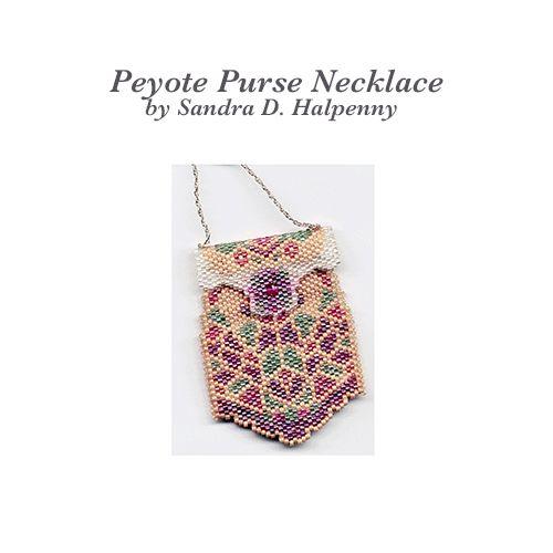 Peyote Purse Necklace Pattern | Bead-Patterns