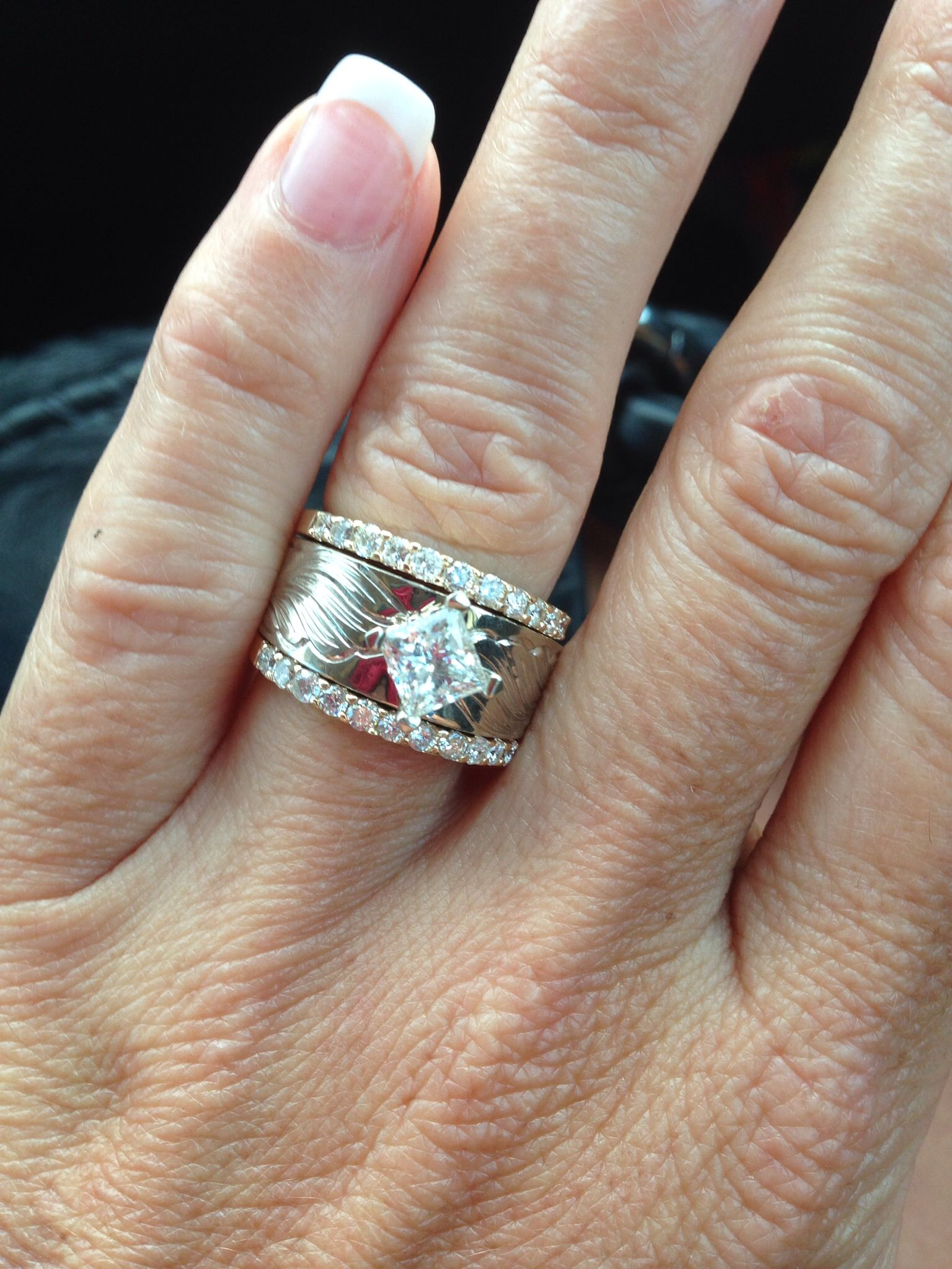 My awesome western wedding ring Cool things Pinterest Western