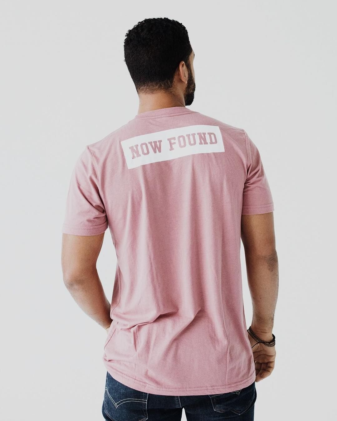 Once Lost Now Found | Dusty Rose Unisex Tee