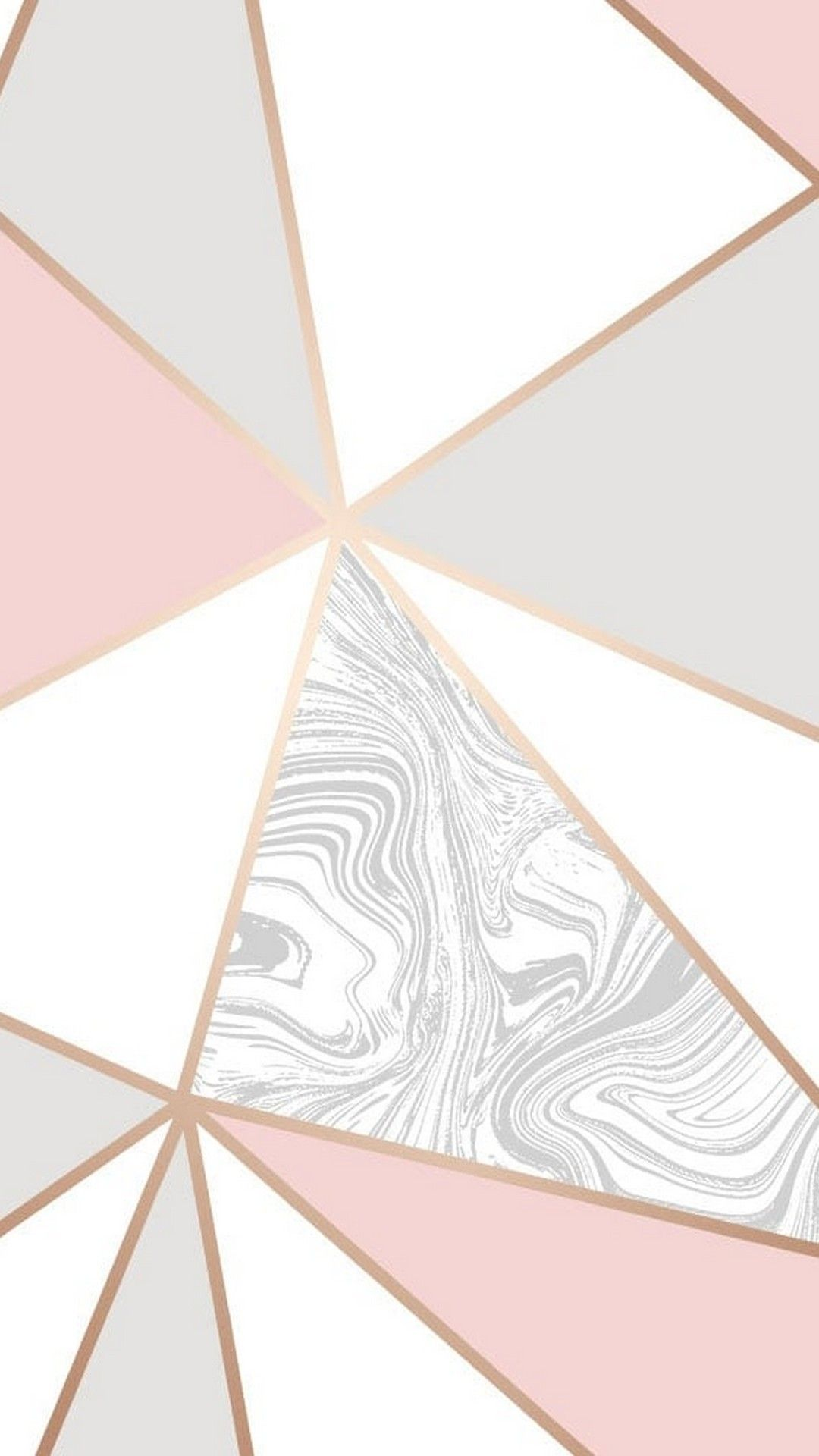 Wallpaper Rose Gold Marble Android