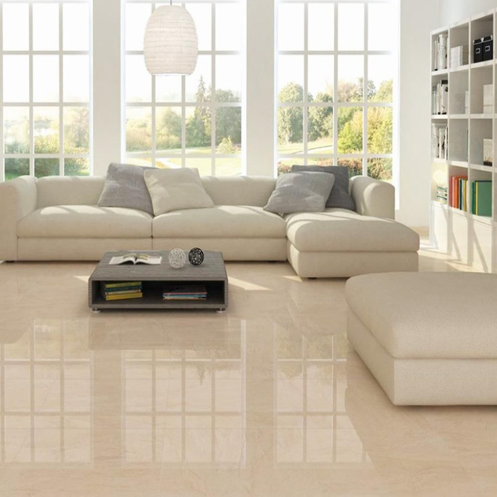 Tile Haven Lyndos Ivory 60 X 60 Living Room Tiles Beige Living Rooms Tile Floor Living Room