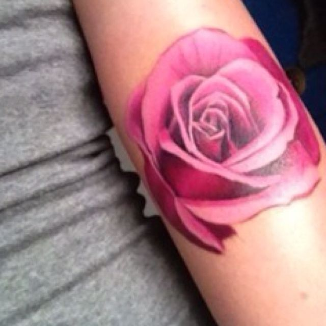 still want a realistic rose tattoo in addition to the. Black Bedroom Furniture Sets. Home Design Ideas