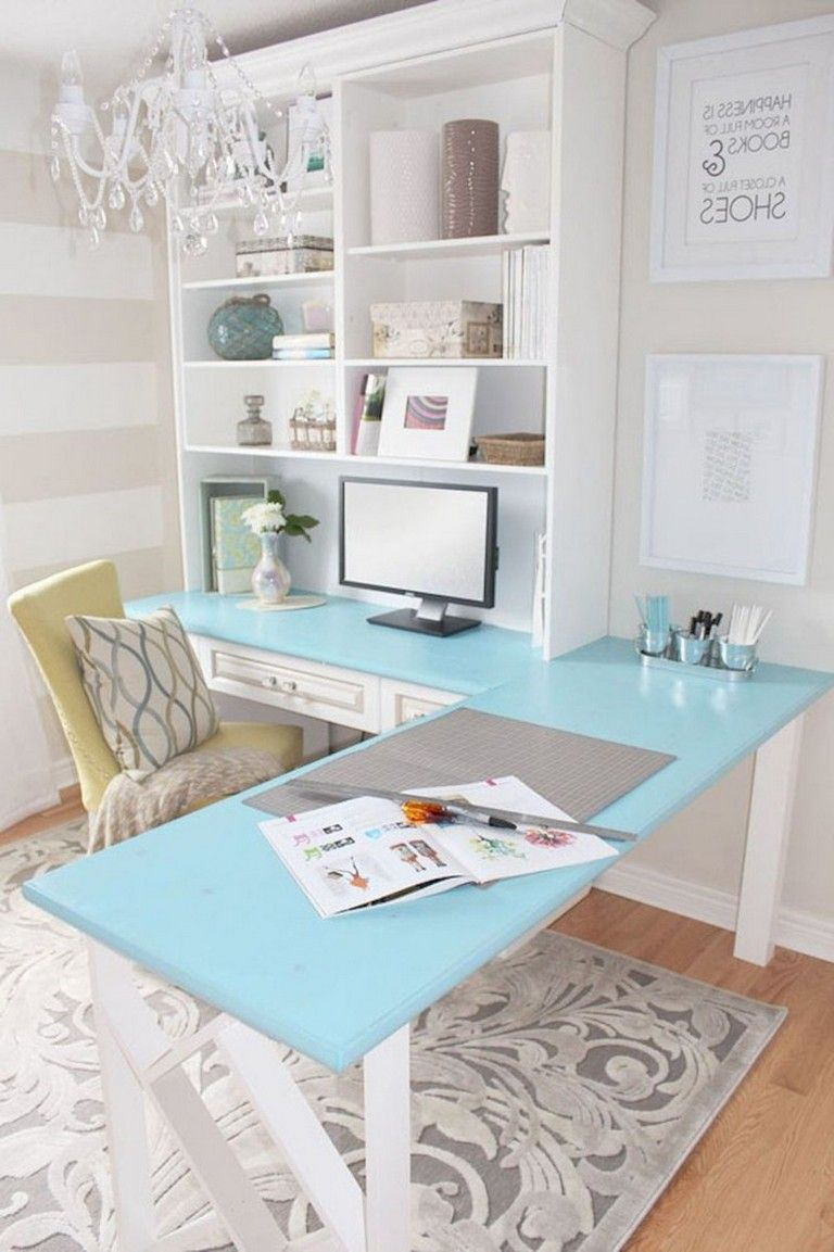 28 Top Ideas How To Add Spring Touches To Your Home Office In 2020 Home Office Decor Home Office Design Home Office Space