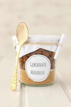 7. Türchen - Gebrannte Mandeln Backmischung zum Verschenken #konfektjul
