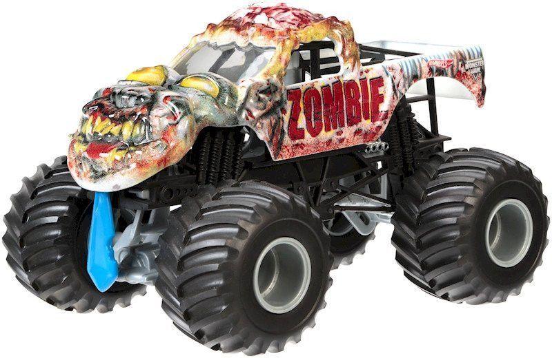 Hot Wheels Monster Jam Zombie 2013 Monster Truck Figure By Mattel Hot Wheels Monster Jam Monster Trucks Monster Jam