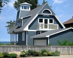 Image result for mitten siding sapphire blue | New house ... - photo#44