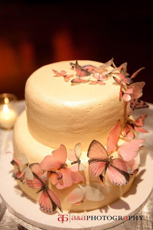 A&A Photography: Butterfly wedding cake www.AandA-photography.com ...