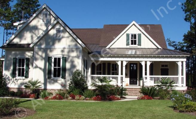 Cumberland Cottage House Plans Home Plans By Archival Designs Cottage House Plans House Plans Farmhouse Farmhouse Layout