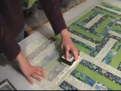 How to use quilt pounce pad & stencil