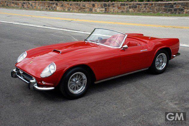 合計17台、総額2,350万ドルのフェラーリです。