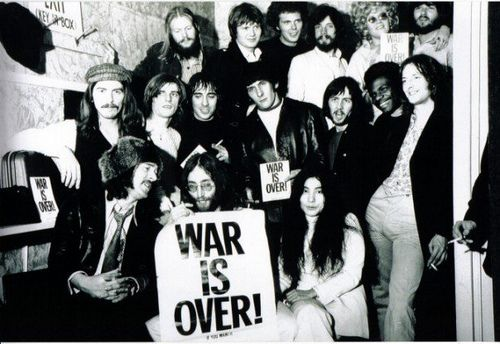 The War Is Over Campaign Was Launched On December 15 1969 At The Peace For Christmas Concert A Benefit For Unic John Lennon The Beatles John Lennon And Yoko
