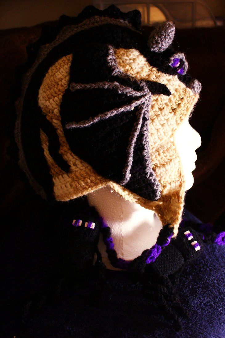 Minecraft+Creeper+Hat+Pattern   Ender Dragon Minecraft Crochet Hat ...