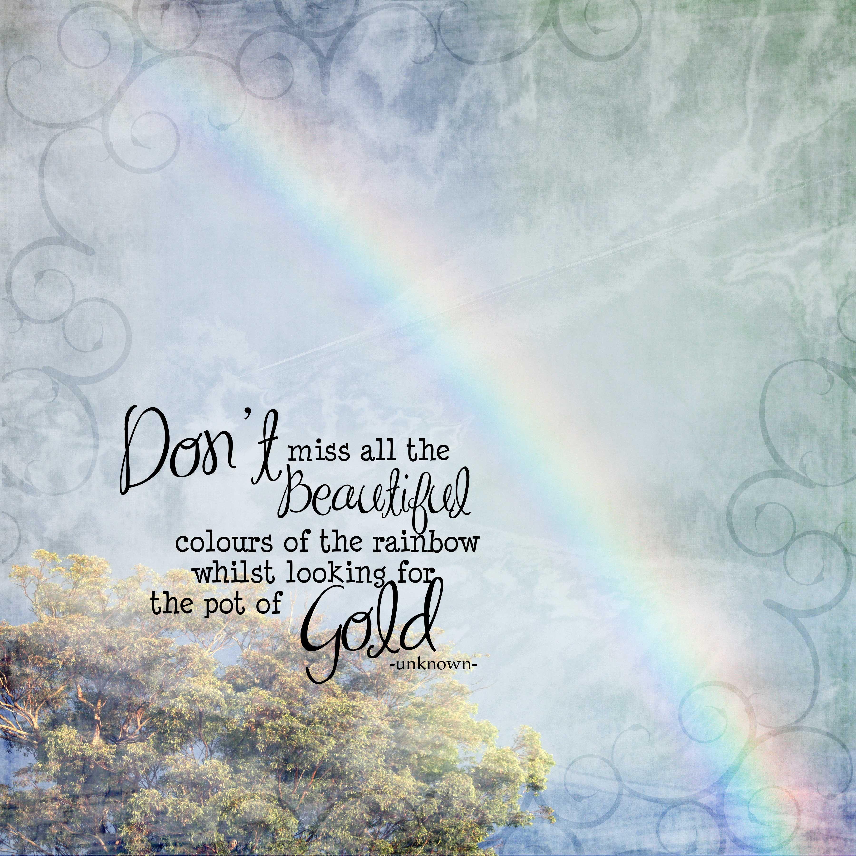 Rainbow Colours Rainbow Colors Photo Quotes Rainbow