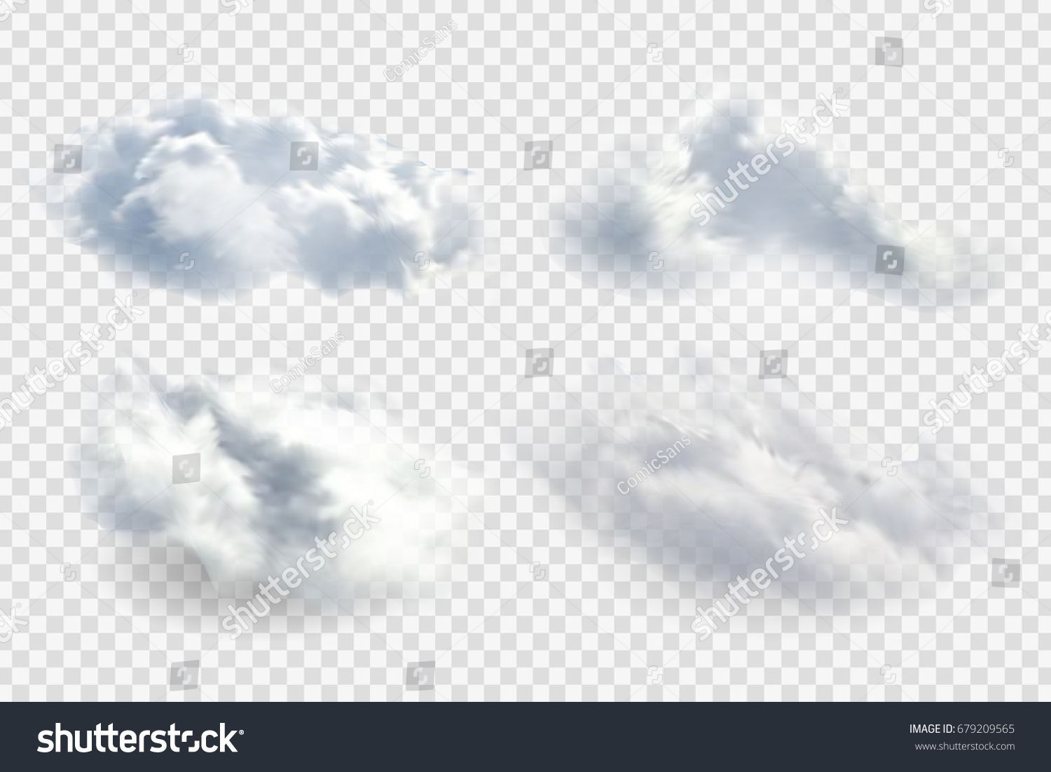 Vector Set Of Realistic Isolated Cloud On The Transparent Background Ad Paid Realistic Set Vector Isolated In 2020 Free Vector Art Vector Art Stock Vector