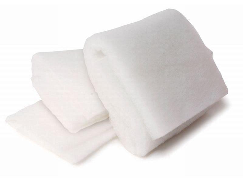 Polyester Volumenvlies, weiß