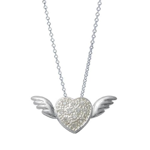 38c4beb6952ec Tiffany Necklaces Jewelry Silver Angel Wings Necklace | STYLE ...
