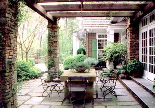Superior Country House Renovation 03 Pergola By Spitzmiller U0026 Norris, ...