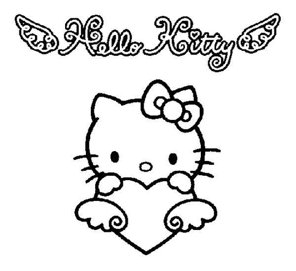 Hello Kitty Hello Kitty Coloring Kitty Coloring Hello Kitty