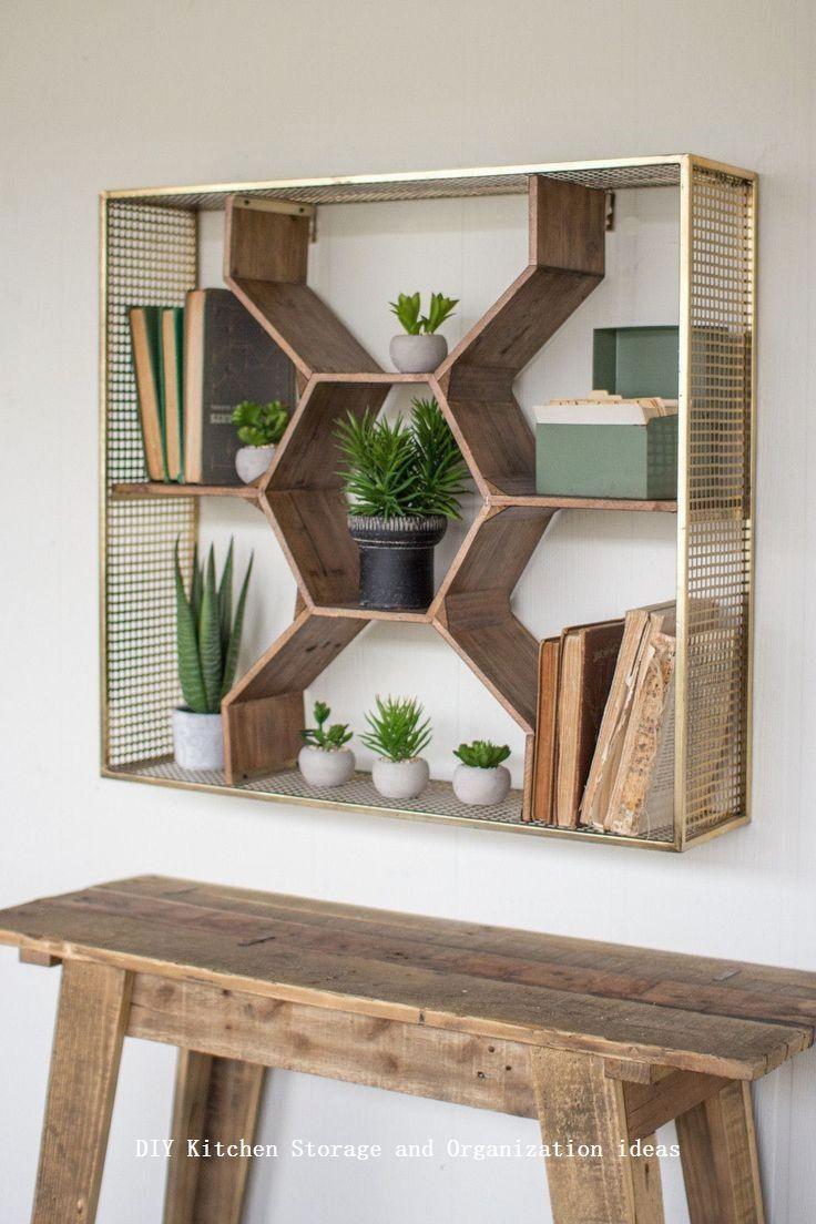 13 DIY Ideas for Kitchen Storage 1   Decor   Pinterest   Flure