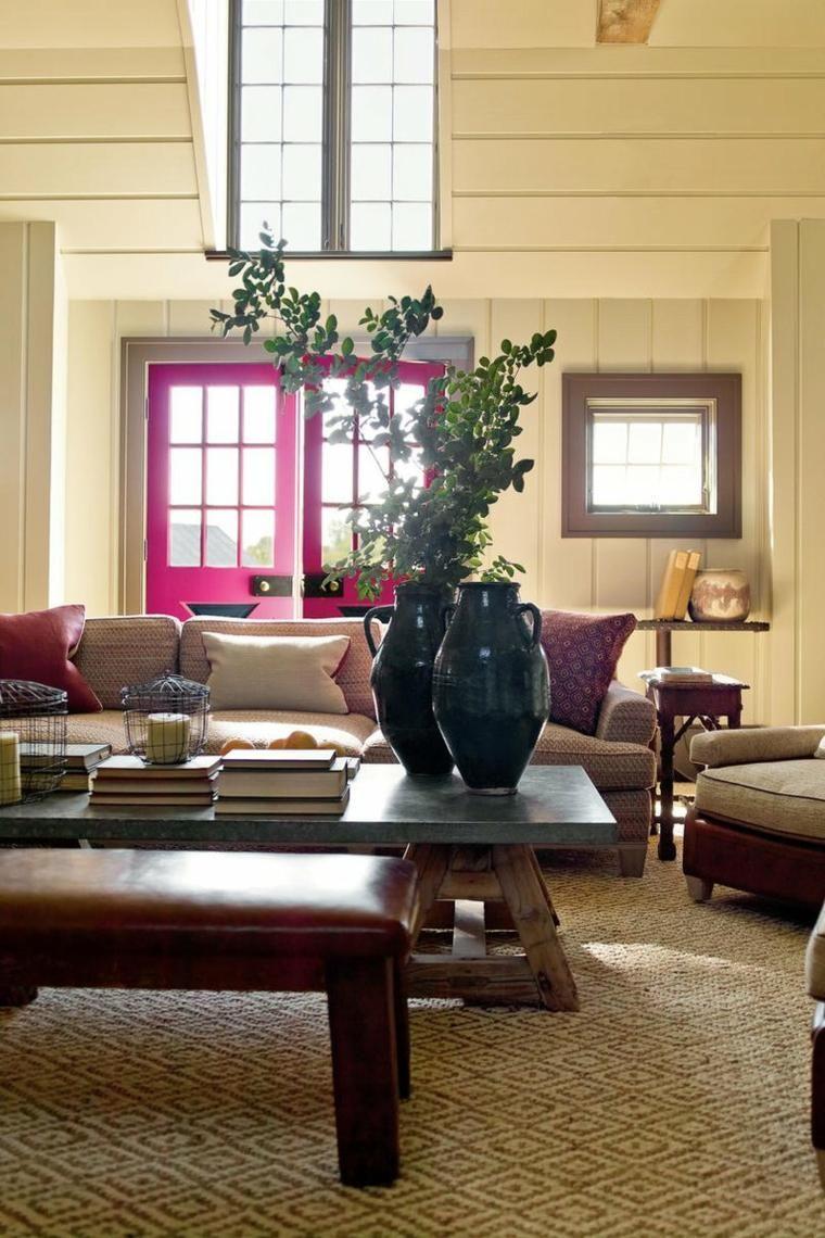 Home-office-innenarchitektur ideen interior design haus  rustikale dekoideen um jeden raum zu