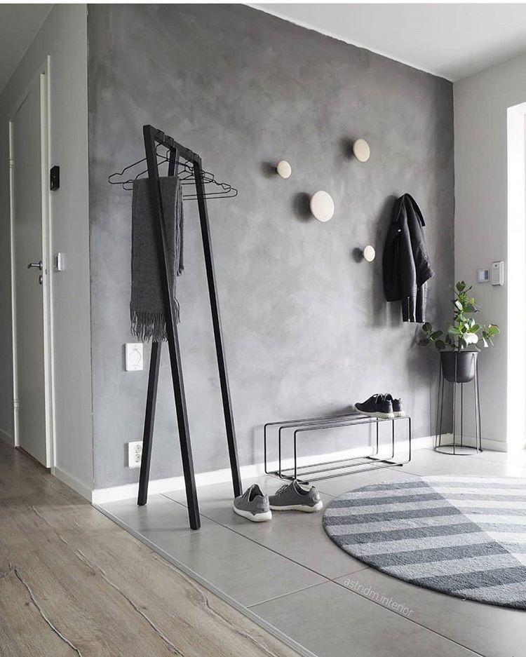 Zanimljiv Prijedlog Za Uređenje Hodnika Uz Loop Stand By Haydesign Dizajnholik Store Zagreb Hay Loopstand Grey Walls Home Interior Design Living Room