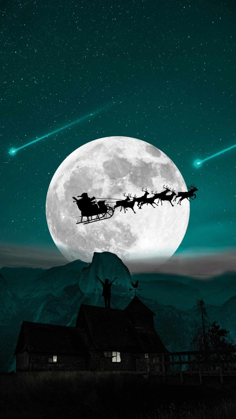 Christmas Dream iPhone Wallpaper - iPhone Wallpapers