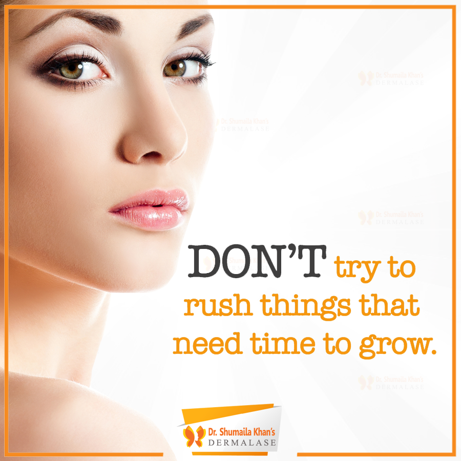 Do It One Step At A Time You Have To Take Care And Nourish Your Skin If You Want To Have Clear And Smooth Sk Dermatologist Laser Clinics Aesthetic Medicine
