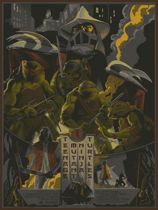 Mondo Art Series For Teenage Mutant Ninja Turtles Teenage Mutant Ninja Turtles Art Ninja Turtles Art Tmnt Art