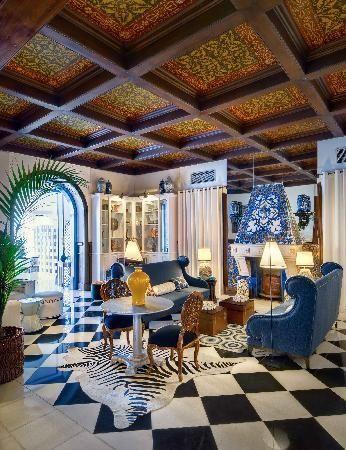 Bela vista hotel restaurant spa lobby portimao for Decor hotel portugal